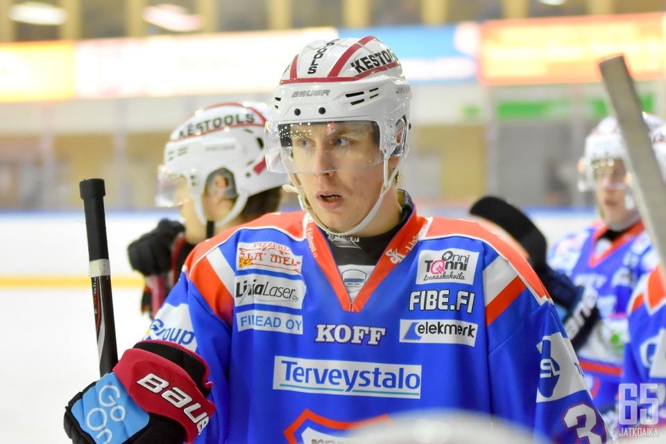 Stråka on tuttu pelaaja KeuPalle jo runkosarjasta.
