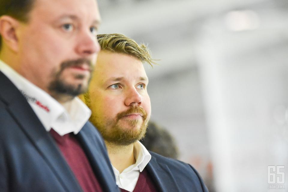 Maso Lehtonen luotsasi Ketterän Suomen Cupin voittoon toisen kerran.