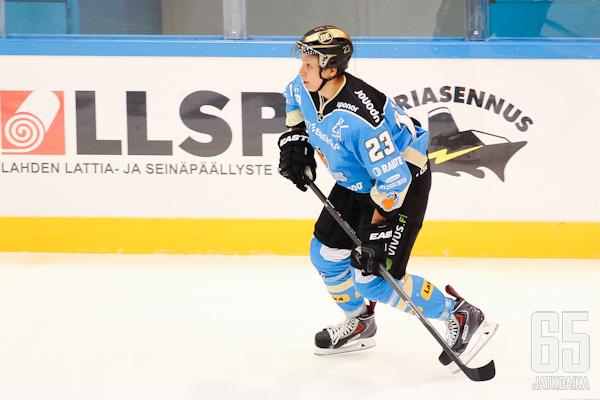 Anrei Hakulinen on ollut Pelicansin parhaimmistoa harjoituskaudella.