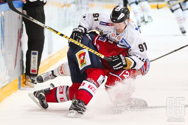 HIFK:n rivit vahvistuvat NHL-taidolla.