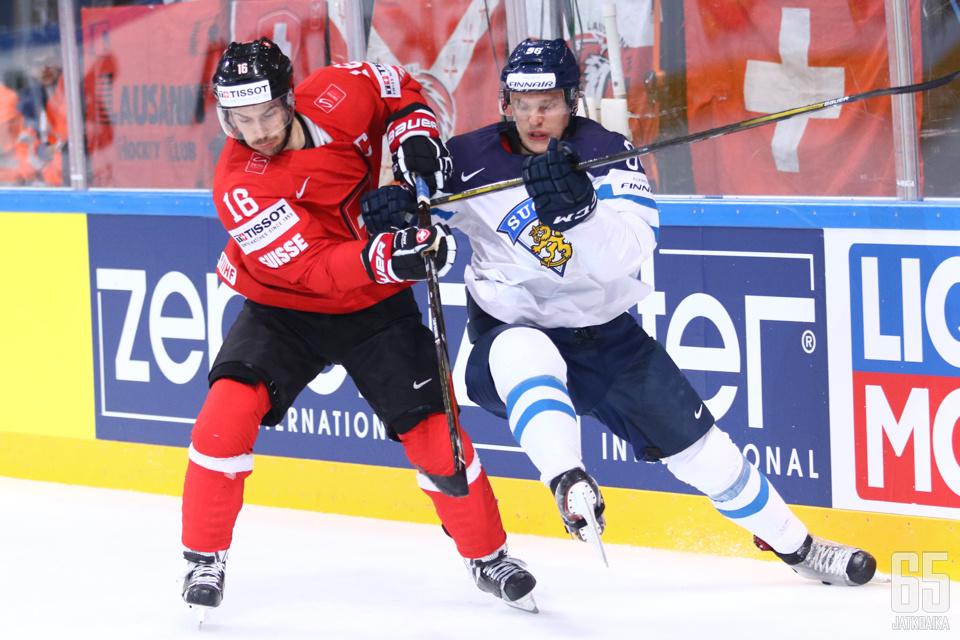Raphael Diaz on Sveitsin tärkeimpiä puolustajia.