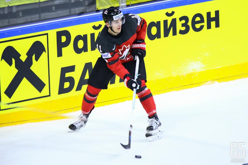 Travis Konecny on Philadelphia Flyersin kirkkaimpia lupauksia.