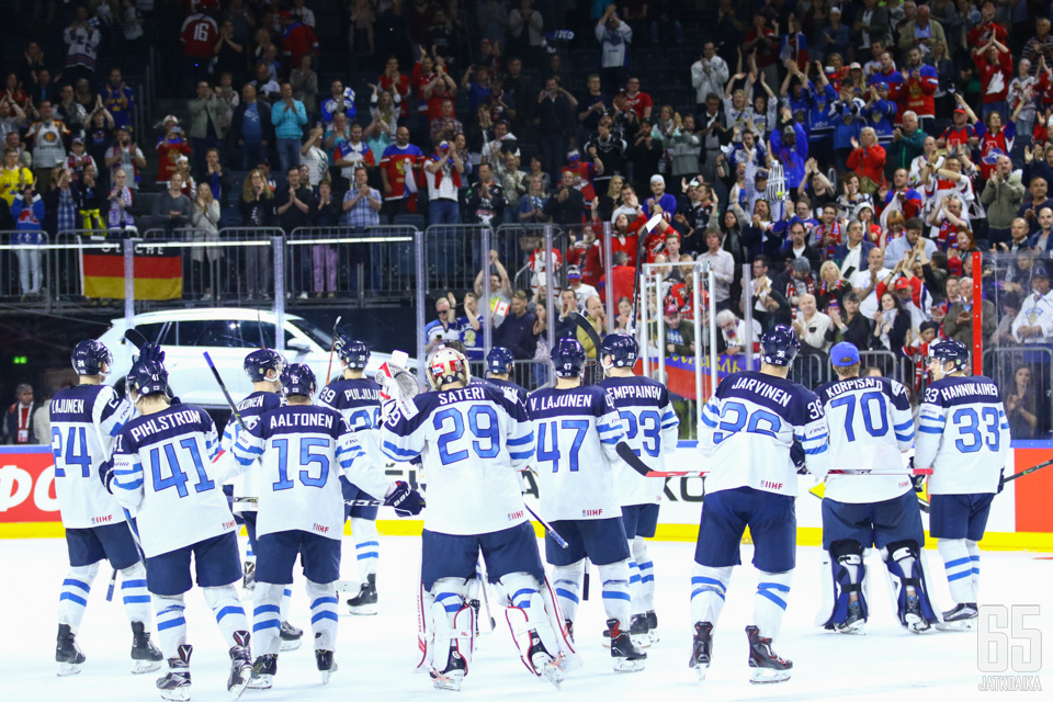 Suomen turnaus päättyi haikeisiin tunnelmiin.