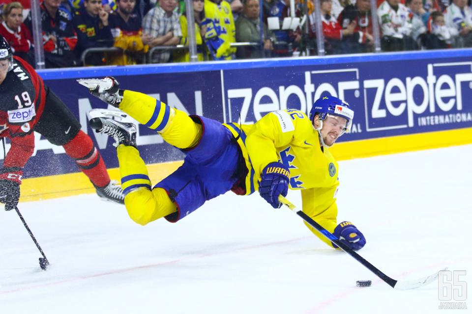 Nordström taisteli kaukalossa viimeiseen asti.