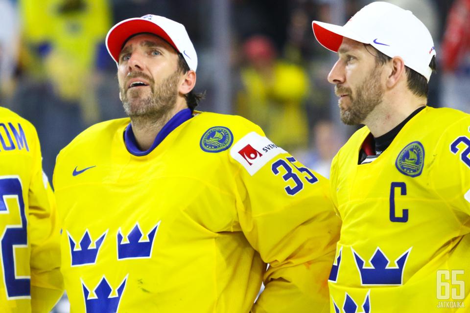 Henrik ja Joel Lundqvist, toiset ruotsalaiset maailmanmestarikaksoset.