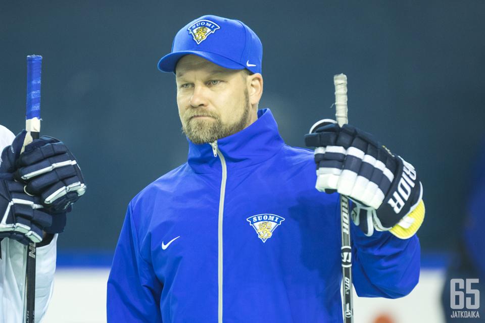 Mikko Manner oli jo viime keväänä MM-kisoissa Leijonien valmennusryhmässä.