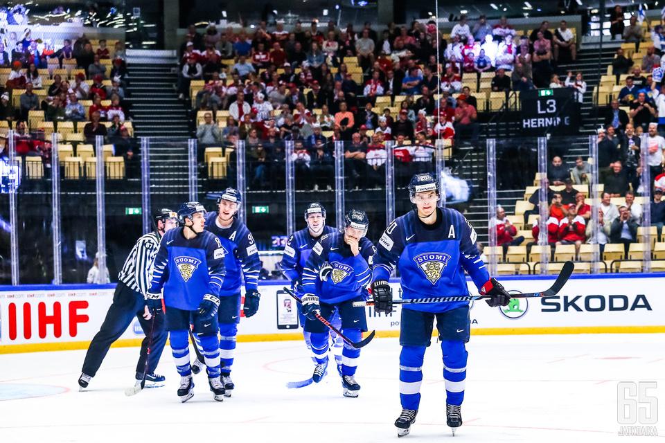 Suomi vietti maalijuhlia Etelä-Koreaa vastaan.