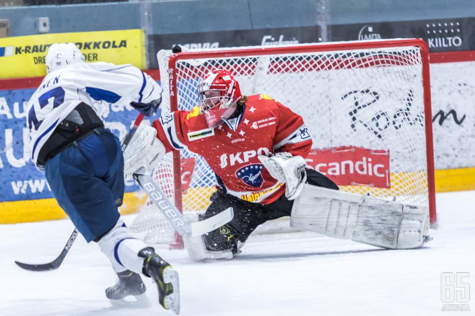 19-vuotias Leevi Laakso edustaa Kokkolan Hermestä.