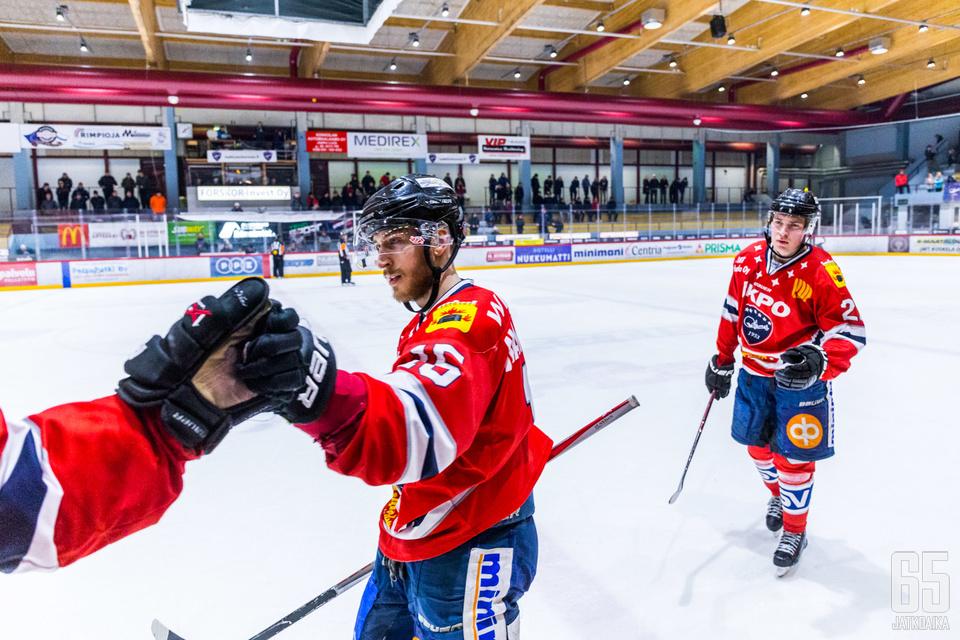 Markkula pelasi tehokkaan kauden Hermeksessä.