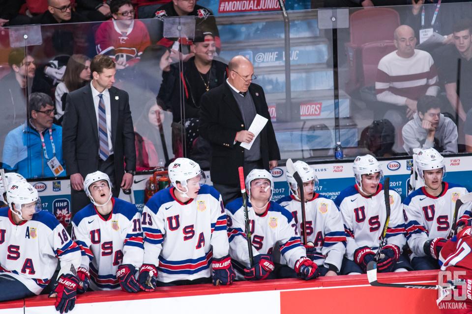 USA:n joukkueessa oli päävalmentaja Bob Motzkon mukaan jotain erityistä.