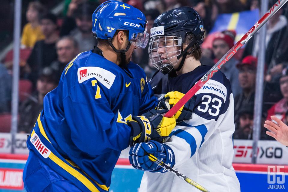 Suomen avausvastustaja nuorten MM-kisoissa on Ruotsi.