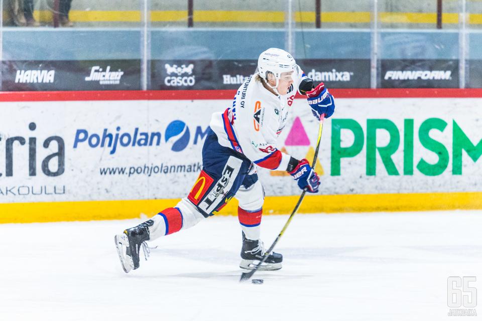 Jääskeläinen pelasi kovan kauden Mestiksessä.