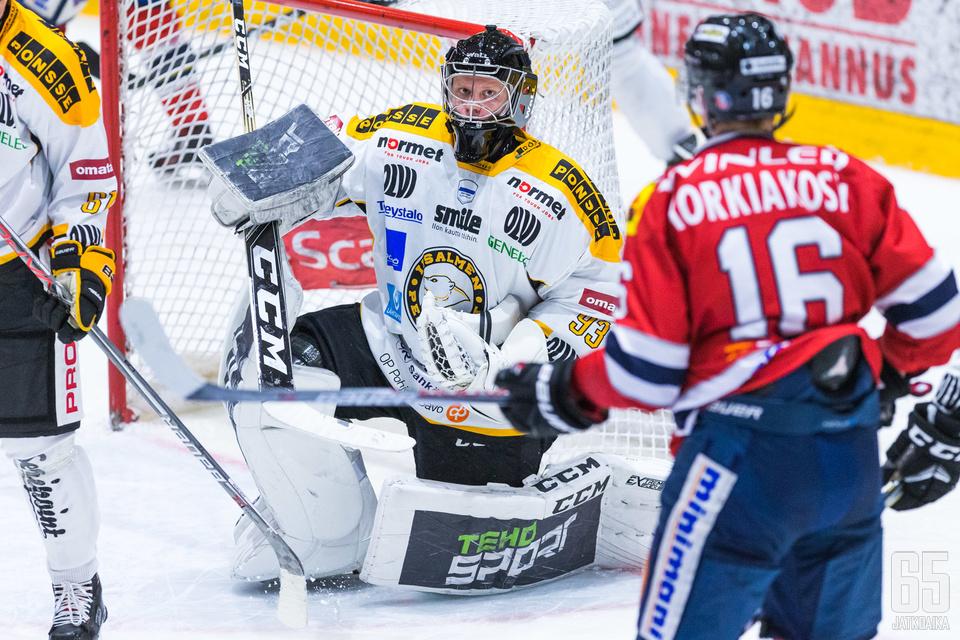 Tuomas Tolonen toimi IPK:n maalivahtina kolme kokonaista kautta.