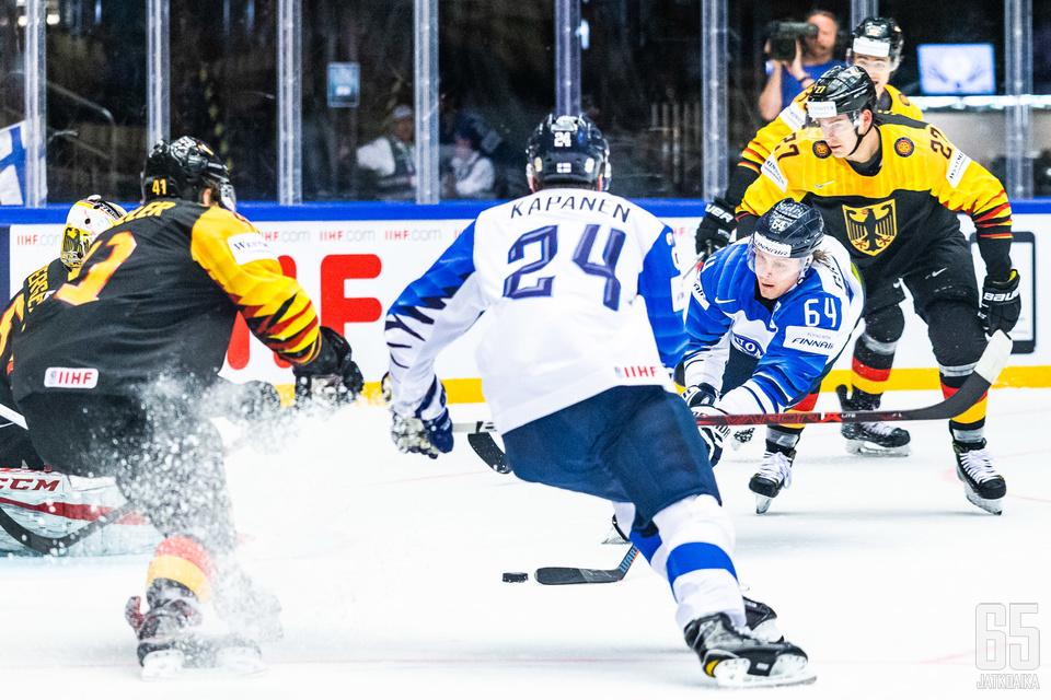 Saksa kesti Suomen käsittelyn kahden pisteen arvoisesti.