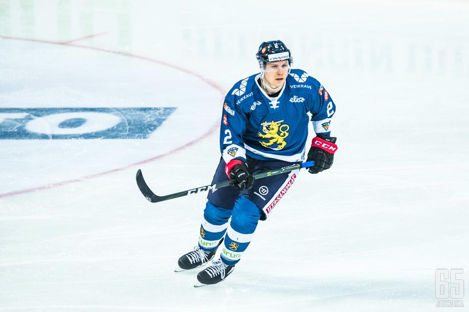 Ville Pokka tuli Leijona-paitaan näyttämään osaamisensa.