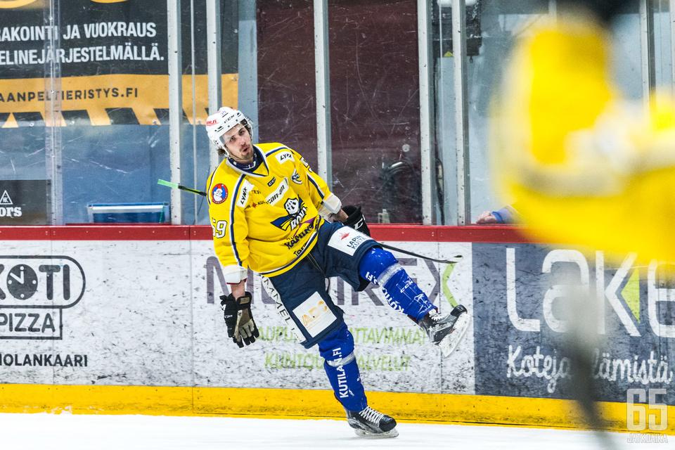 Kangas pelasi viime kaudella tehokkaasti RoKissa.
