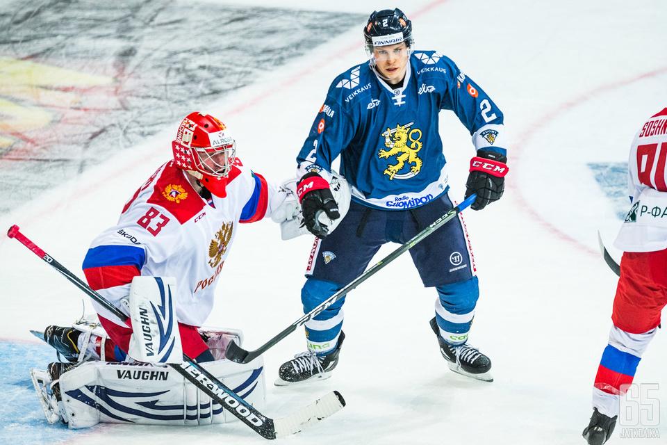 Ville Pokka nauttii Leijonissa pelaamisesta.