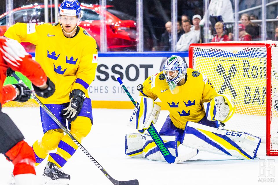 Nilsson oli Ruotsin viimeinen lukko.