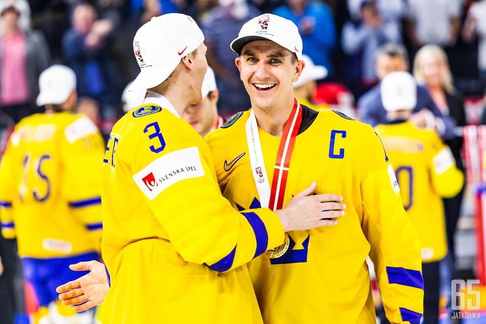 Mikael Backlund kuului joukkueen keskeisiin hahmoihin.