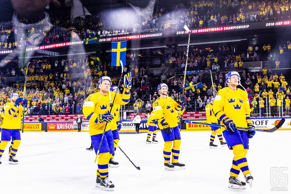 Ruotsi eteni miesten MM-kisojen loppuotteluun voittamalla Yhdysvallat 6-0.