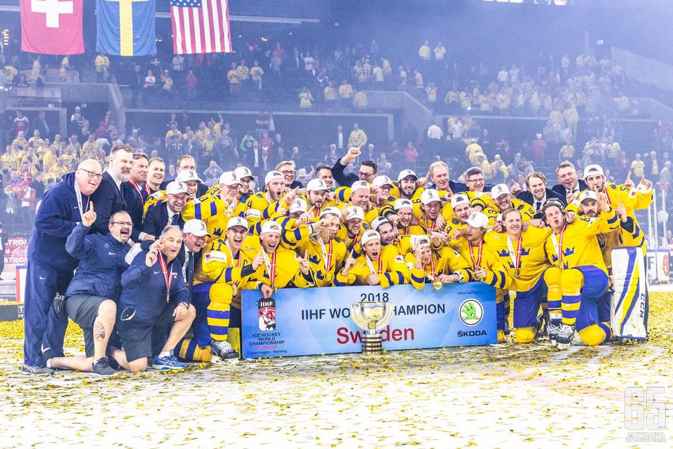 Ruotsin toisen peräkkäisen MM-kullan puolustus alkaa Karjala-turnauksesta.