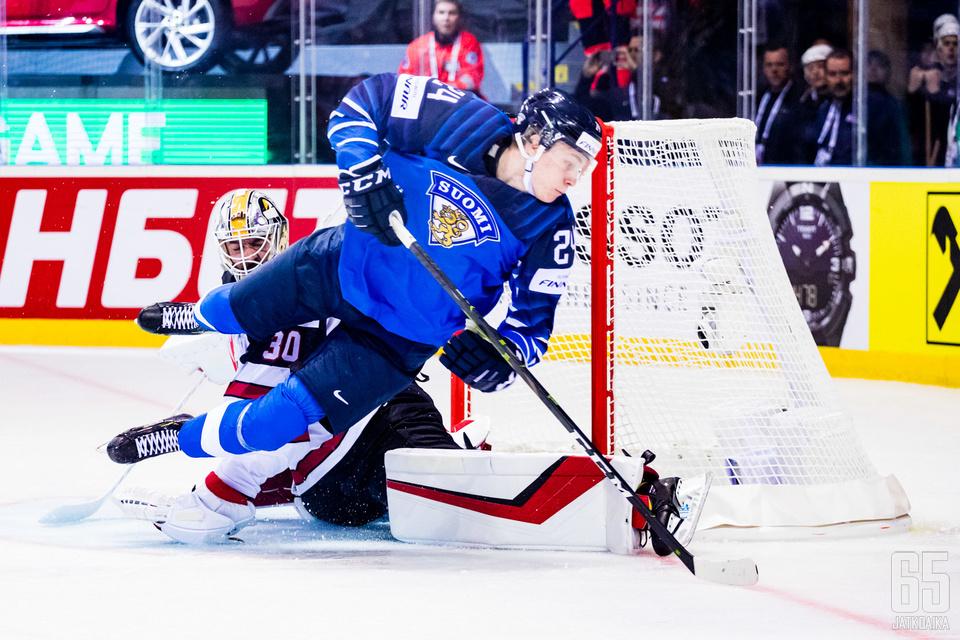Kakko onnistui maalinteossa kahdesti Kanadaa vastaan.