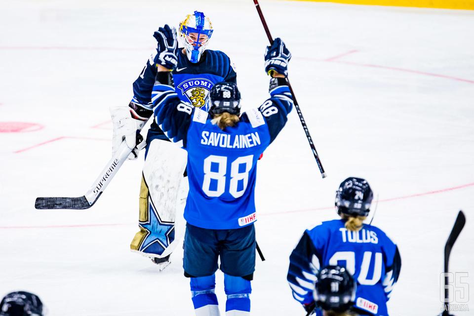 Suomen tie MM-kisoissa vie loppuunvarattuun finaaliin.