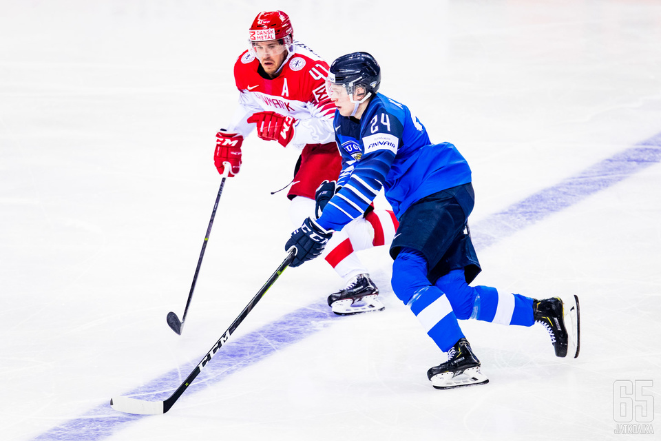 Suomi kaatoi Kaapo Kakon johdolla Tanskan 3–1.