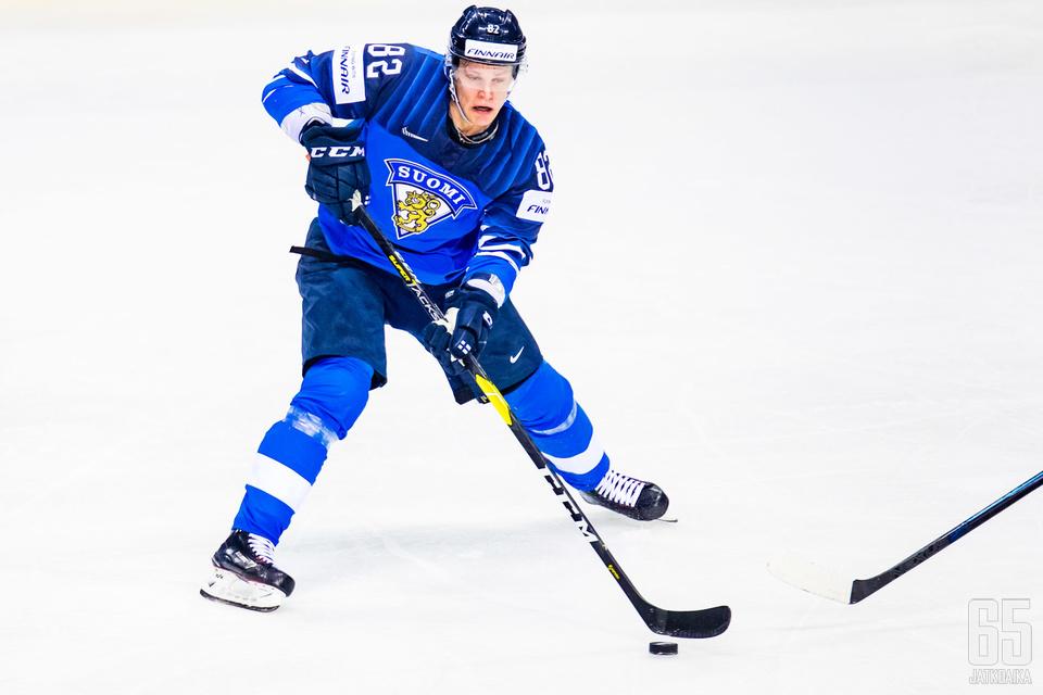 Harri Pesonen iski turnauksen toisen maalinsa.