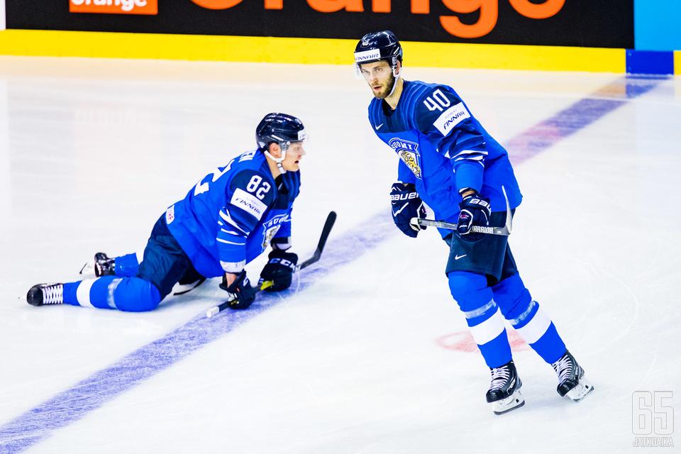 Suomi palasi Tanska-ottelussa voittokantaan.