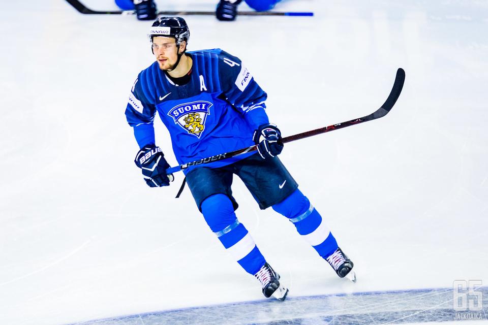 Mikko Lehtonen on osoittanut taitonsa maajoukkueessa, nyt sama pitäisi tehdä NHL:ssä.
