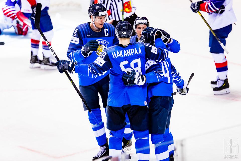 Suomi on viimeksi päässyt juhlimaan Iso-Britanniaa vastaan.