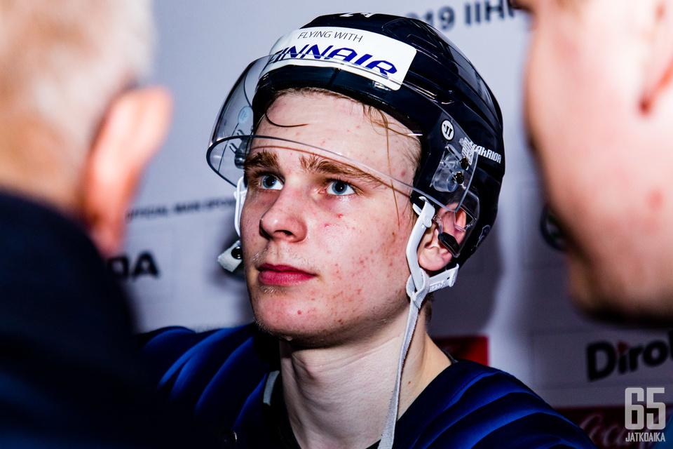 Kaapo Kakko käy näyttäytymässä NHL-joukkueille ensi viikolla.