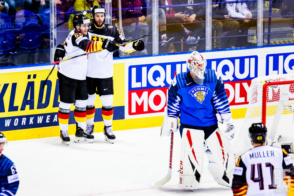 Kevin Lankisella oli vaikea päivä Suomen maalilla.