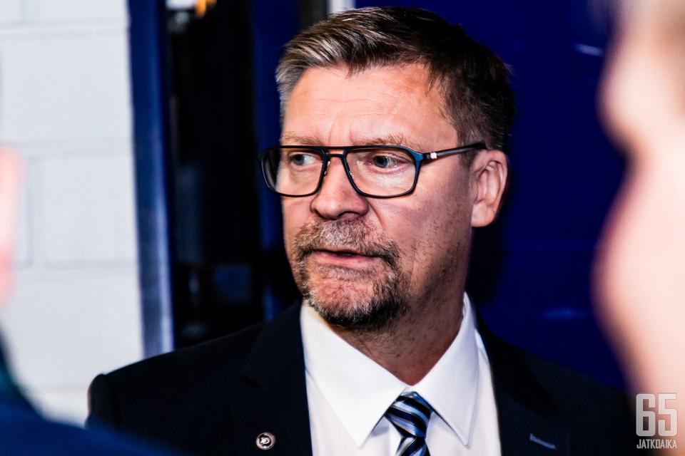 Jukka Jalonen toimii Leijonien päävalmentajana.