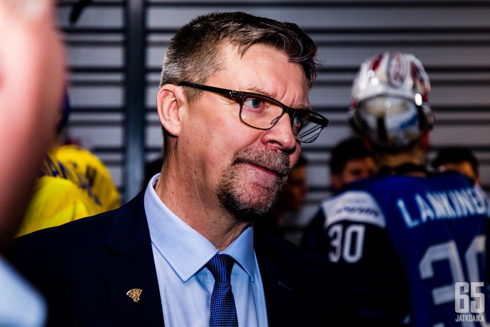 Jukka Jalonen luotsasi Leijonat mitalipeleihin.