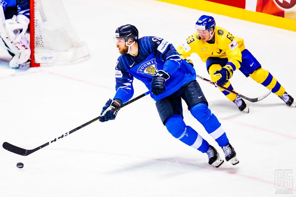 Lopputulos oli se, että Suomi vei ja Ruotsi roikkui perässä.