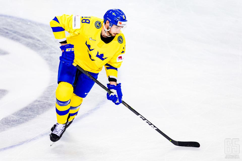 MM-kisoissakin Ruotsin paidassa pelannut Pettersson jatkaa uraansa Pittsburgh Penguinsissa.