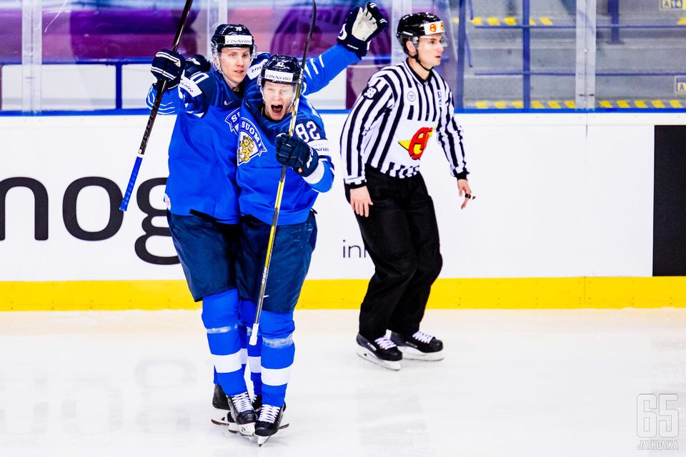 Mikkolan lämäri painui Ruotsin verkkoon heti alussa.