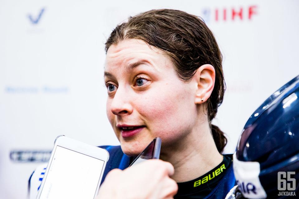 Jenni Hiirikoski pelaa jo uransa 13. MM-kisat.