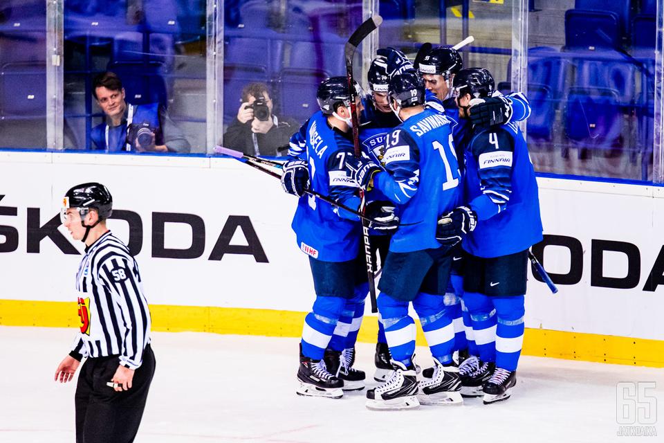 Suomi on ollut viimeksi voitokas Ranskaa vastaan sunnuntaina.