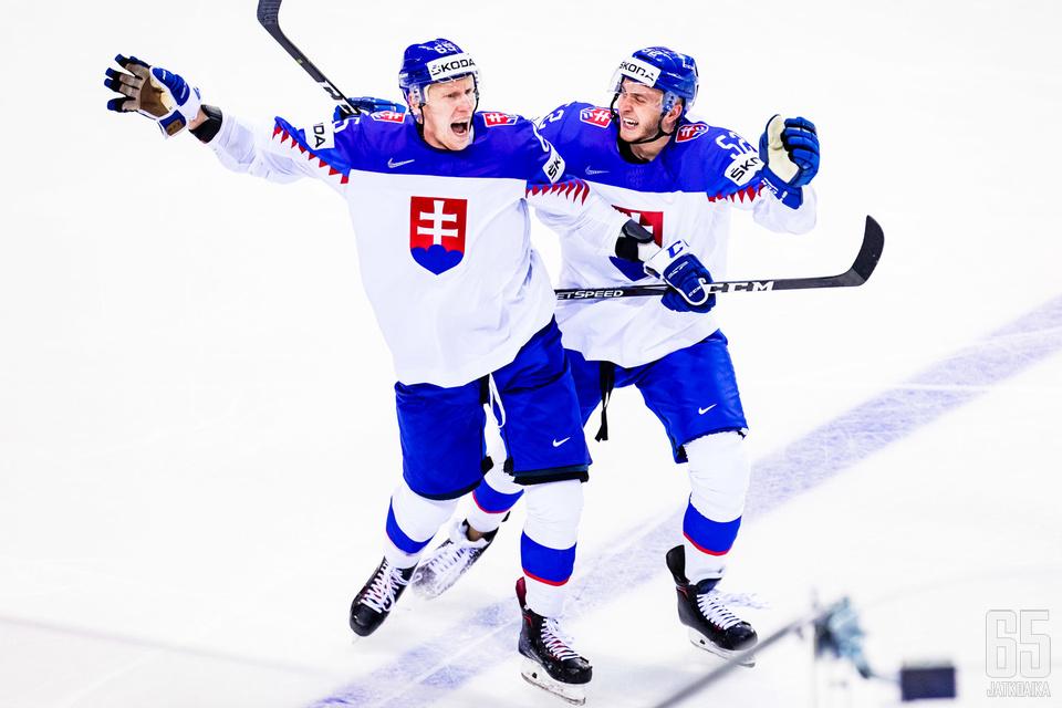 Slovakia jatkaa juhlia lauantaina Iso-Britanniaa vastaan.