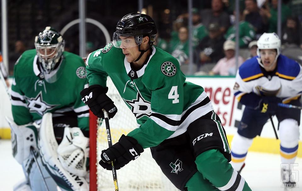 Miro Heiskasen ensimmäinen NHL-vaihto oli vakuuttava.