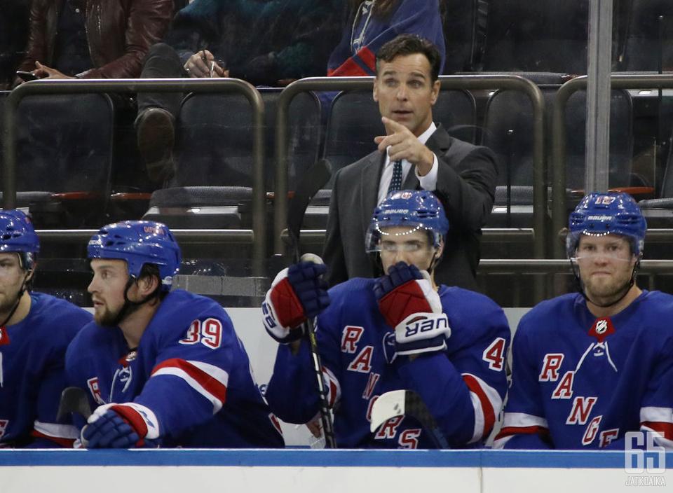 Quinnin Rangers on parantanut esityksiään kauden edetessä.