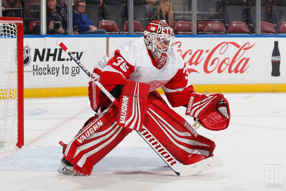 Howard on nykyisen Red Wings -joukkueen kokeneimpia pelaajia.