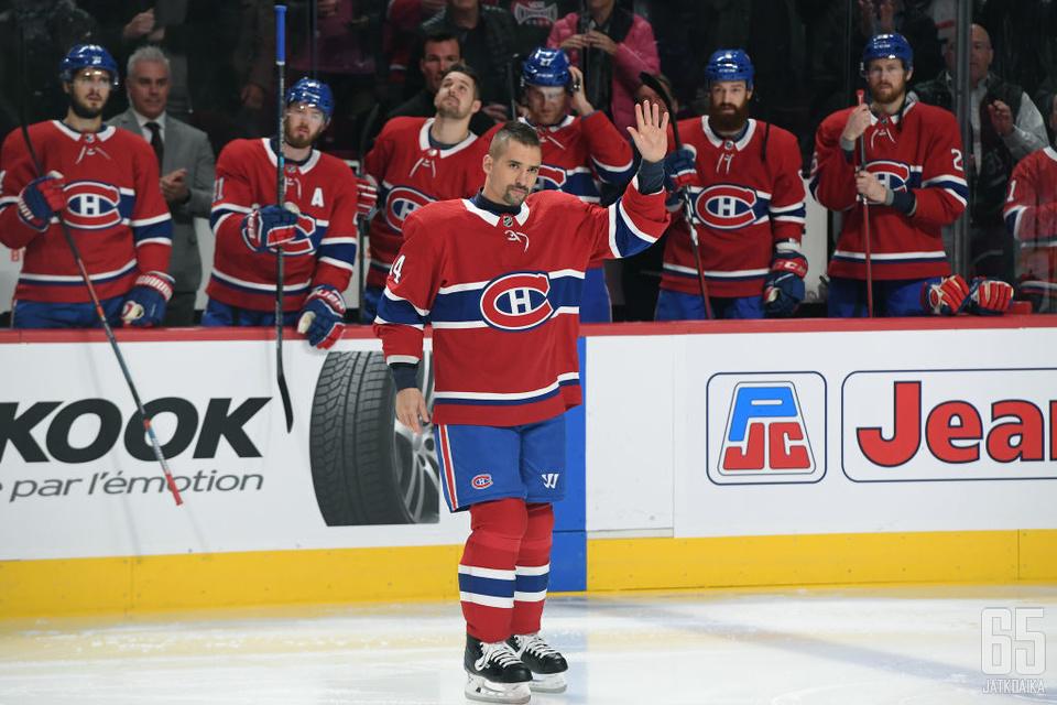 Tomas Plekanec jättää NHL-kaukalot viidentoista kauden jälkeen.