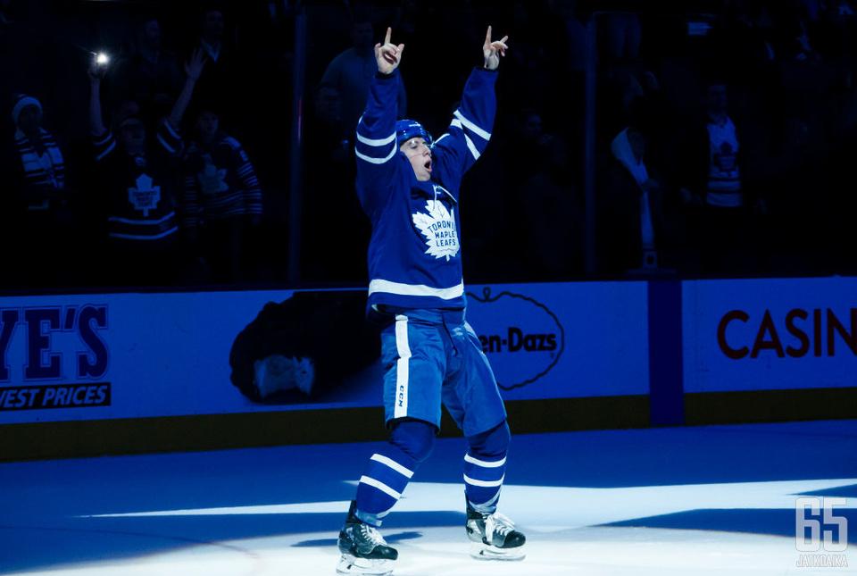 Marner oli päättyneellä kaudella Toronto Maple Leafsin paras pistemies.