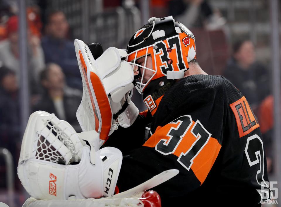 Philadelphia Flyersin maalinsuu on ollut tuulinen paikka.