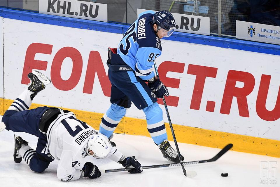 Pavel Vorobei pelasi viime kaudella Sibir Novosibirskissä.
