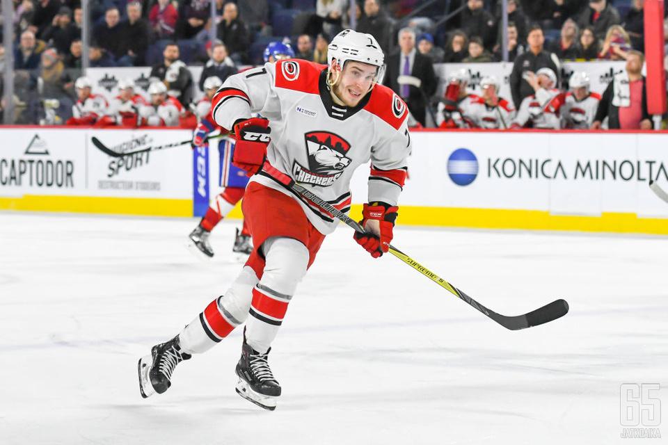 Aleksi Saarelalla on allaan kaksi tehokasta kautta AHL:ssä.